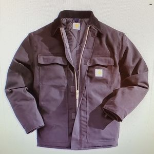 Men's Carhartt Traditional Duck Work Jacket Black